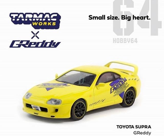 予約 TARMAC 1/64 Toyota Supra Greddy