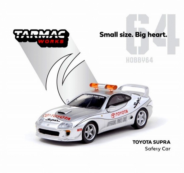 TARMAC 1/64 Toyota Supra Safety Car