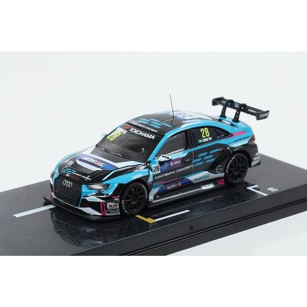 【TARMAC】1/64 Audi RS 3 LMS WTCR Race of Macau 2018 Kevin Tse