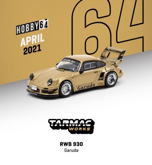 TARMAC 1/64 RWB 930 Garuda Street version