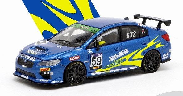 TARMAC 1/64 スバル WRX STI スーパー耐久 Series 2018