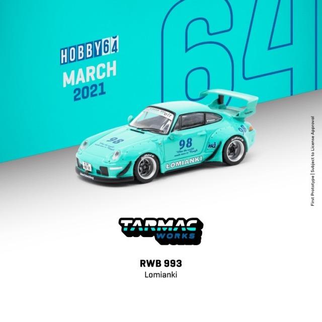 TARMAC 1/64 RWB 993 Lomianki