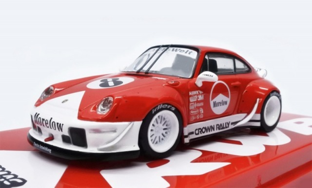 TARMAC 1/64 RWB 993 Morelow With Metal Oil Can