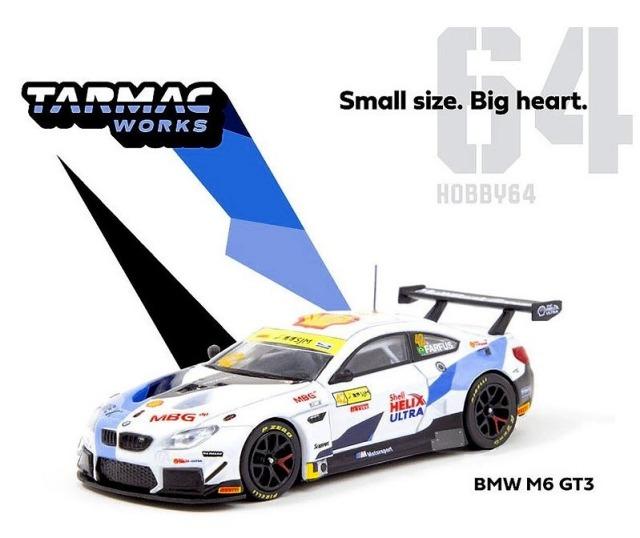 TARMAC 1/64 BMW M6 GT3 Macau GT Cup-FIA GT World Cup 2019 A.Farfus