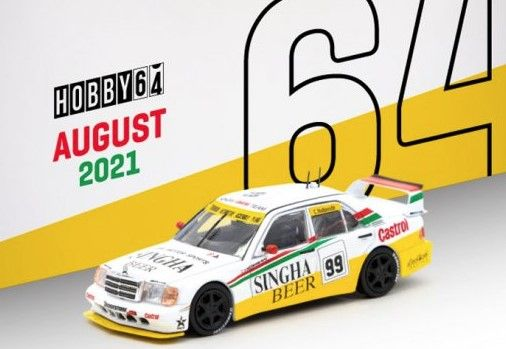 TARMAC 1/64 Mercedes-Benz 190 E 2.5-16 Evolution II SE Asia Touring Car Championship 1995