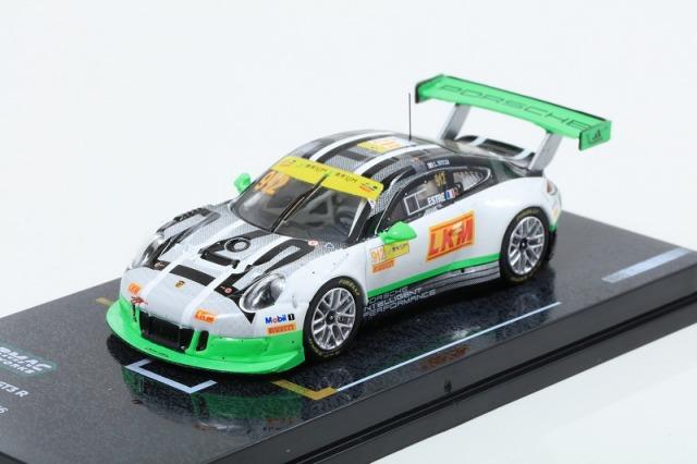 TARMAC 1/64 Porsche 911 GT3 R (991) Macau GT Cup - FIA GT World Cup 2016 2nd #912