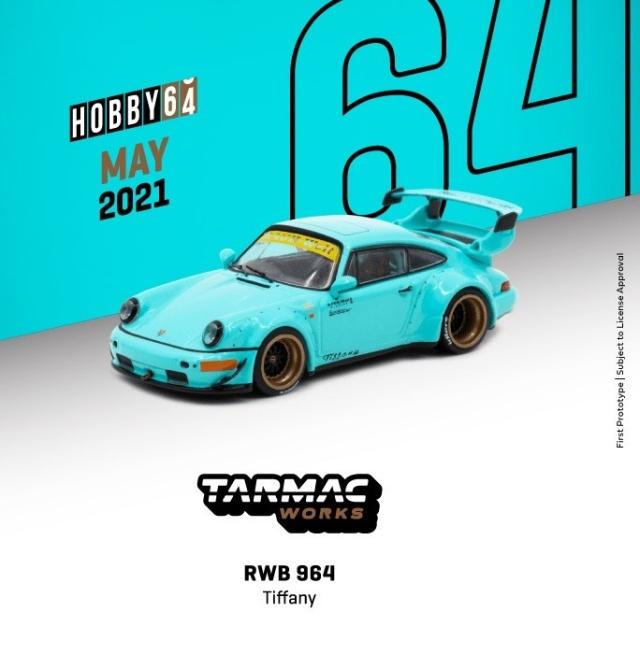 TARMAC 1/64 RWB 964 Tiffany