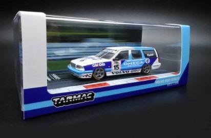 <予約> [TARMAC] 1/64 Volvo 850 Estate BTCC 1994 Rickard Rydell