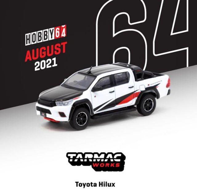TARMAC 1/64 Toyota Hilux White