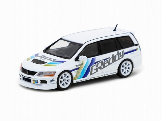TARMAC 1/64 Mitsubishi Lancer Evolution Wagon Greddy