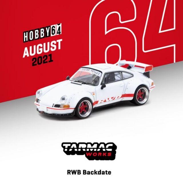 TARMAC 1/64 RWB Backdate White