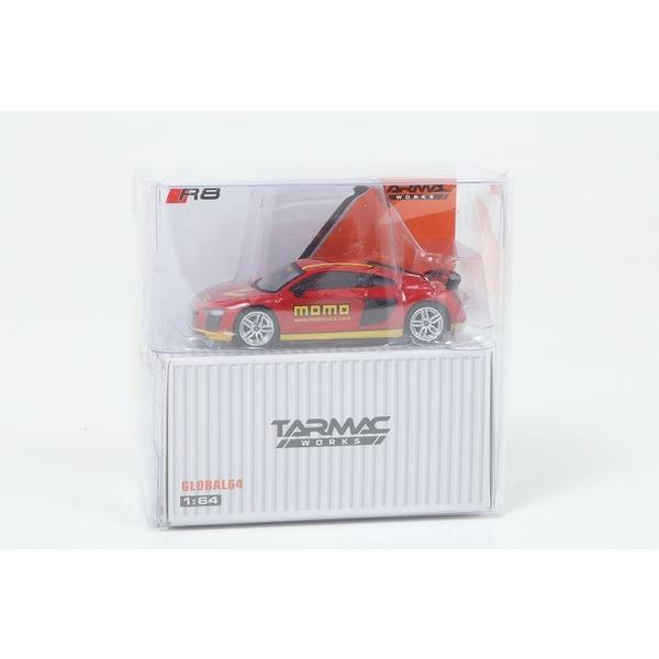 【TARMAC】 1/64 アウディ R8 V10 プラス momo