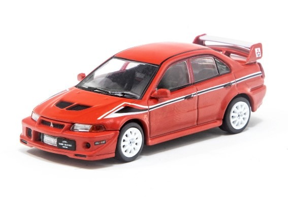 TARMAC 1/64 Mitsubishi Lancer Evolution VI Tommi Makinen Edition