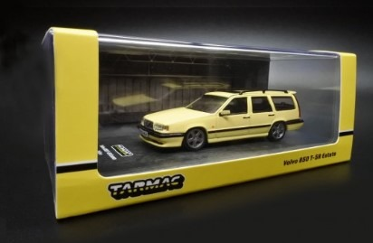 TARMAC 1/64 Volvo 850 T-5R Estate Yellow