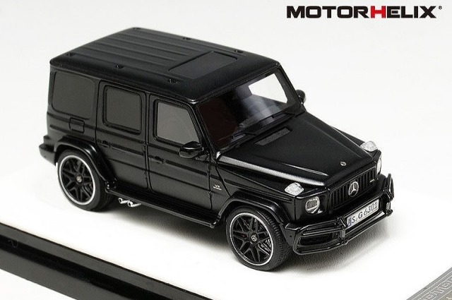 <予約> [MOTORHELIX] 1/64 Mercedes AMG G63 (2019)Semi Gloss Black ※世界限定499pcs