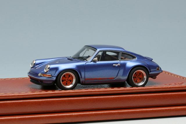 Titan64 1/64 Singer 911 (964) Coupe Ice Blue Metallic