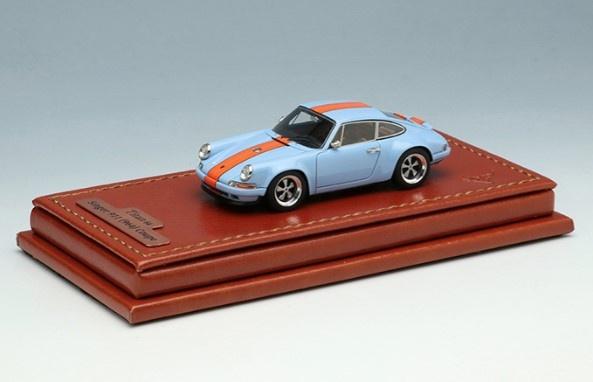 Titan64 1/64 Singer 911 (964) Coupe Gulf Blue 限定700台