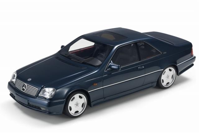 <予約 2021/12月下旬発売予定> TOPMARQUES 1/43 AMG メルセデス CL 600 7.0 ダークメタリックブルー