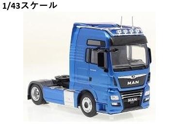 <予約 2021/8月発売予定> ixo 1/43 MAN TGX XXL D38 ブルー?