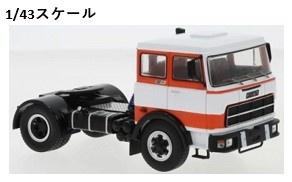 <予約 2021/8月発売予定> ixo 1/43 フィアット 619 N1 1980 ホワイト/レッド