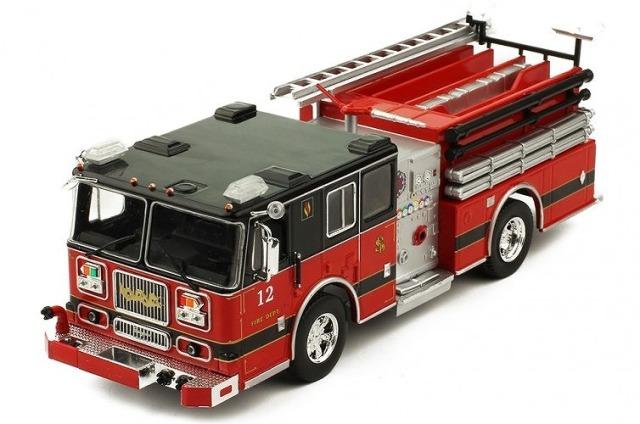 ixo 1/43 シーグレイブ Marauder2 消防車