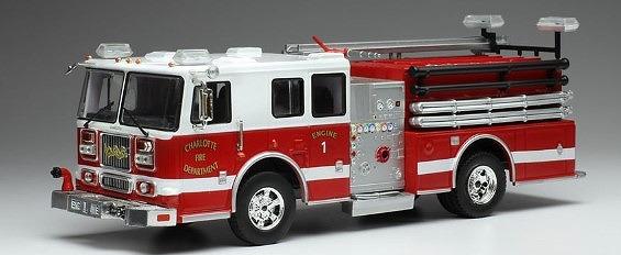 ixo 1/43 シーグレーヴ MARAUDER 2 シャーロット市消防署