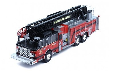 ixo 1/43 SMEAL 105' Aerial Ladder USはしご消防車 2014