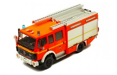 <予約> [ixo] 1/43 メルセデス・ベンツ LF 16/12 Ziegler FF Hohendeich 消防車 1995