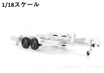 <予約 2021/8月発売予定> ixo 1/18 シングル カートレーラー?
