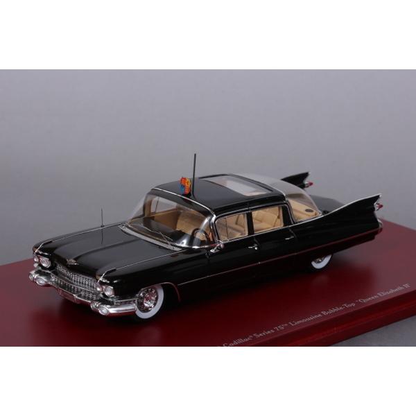 """【TSM】 1/43 キャデラック Series75 リムジン 1958 Bubble-Top """"クイーンエリザベス2世"""""""