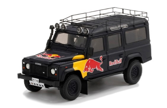 TSM 1/43 Land Rover Defender Red Bull LUKA Promotional Vehicle