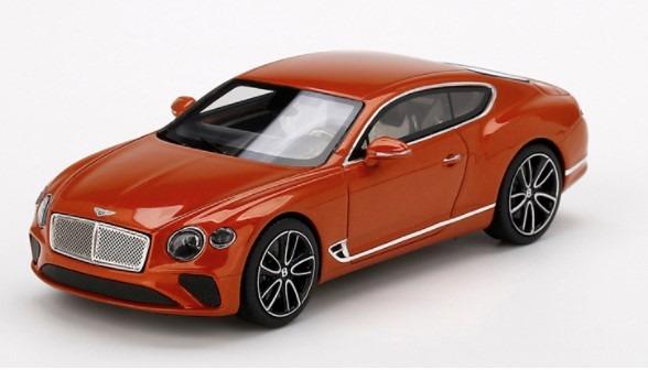TSM 1/43 ベントレー コンチネンタル GT オレンジ フレイム