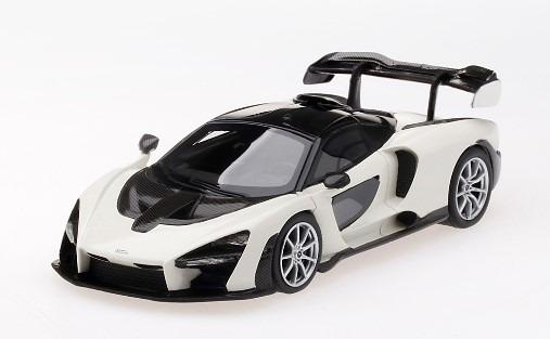 TSM 1/43 McLaren Senna White