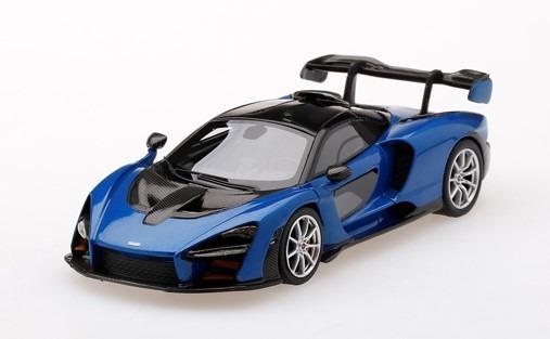TSM 1/43 McLaren Senna Antares Blue