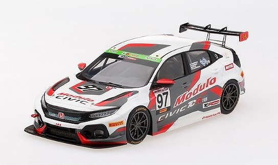 TSM 1/43 Honda Civic Type R TCR #97 2018 Suzuka Winner