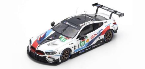 TSM x spark 1/43 BMW M8 GTE No.81 BMW Team MTEK 24H ル・マン 2018 M.Tomczyk/N.Catsburg/P.Eng