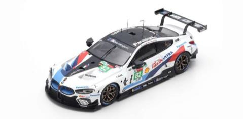 TSM x spark 1/43 BMW M8 GTE No.82 BMW Team MTEK 24H ル・マン 2018 A.Farfus/A.F?lix da Costa/A.Sims