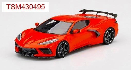 TSM 1/43 シボレー コルベット スティングレイ 2020 セブリング オレンジ ティントコート