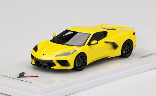TSM 1/43 Chevrolet Corvette Stingray Accelerate Yellow Metallic