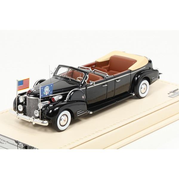 【TSM】 1/43  キャデラック 1938 シリーズ90 V16 大統領リムジン クイーンメリー