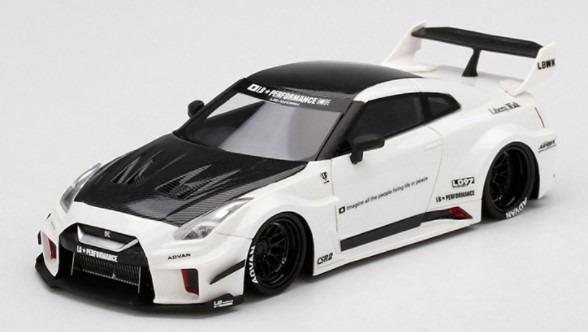 TSM 1/43 LB-Silhouette WORKS GT Nissan 35GT-RR バージョン1 ホワイト