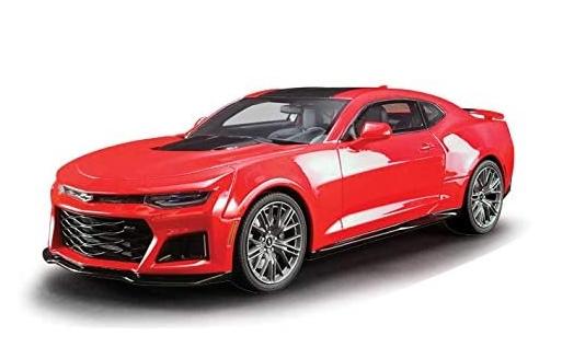 <セール> GT Spirit 1/18 シボレー カマロ ZL1 (レッド/ブラックストライプ) US Exclusive