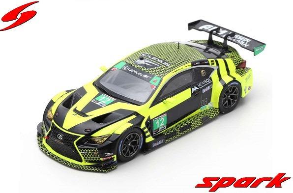 Spark 1/43 Lexus RC F GT3 No.12 AIM Vasser Sullivan 24H Daytona 2018