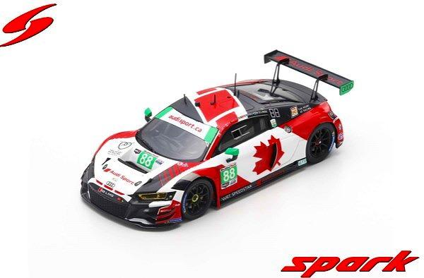 Spark 1/43 Audi R8 LMS GT3 No.88 WRT Speedstar Audi Sport 24H Daytona 2019 Limited 300