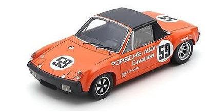 <予約> [Spark] 1/43 Porsche 914/6 GT No.59 Winner V.I.R IMSA 1971 P. Gregg - H. Haywood
