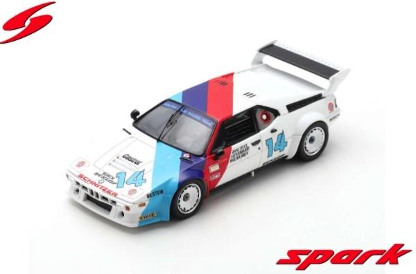 Spark 1/43 BMW M1 No.14 24H Daytona 1981 H-J. Stuck - W. Brun - A. Gebhardt Limited 500