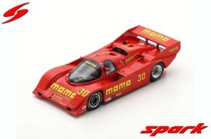 <予約> Spark 1/43  Porsche 962 No.30 Del Mar 2H 1988 G. Moretti - S. Phillips