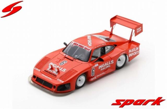 Spark 1/43 Porsche 935 No.6 3rd 12H Sebring 1984 B. Wollek - A. J. Foyt - D. Bell Limited 500