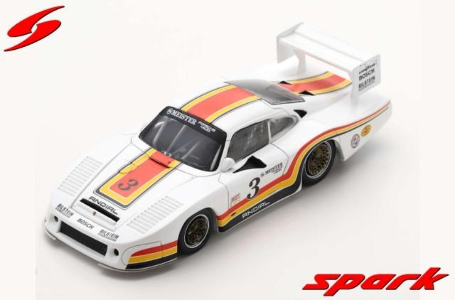 spark 1/43 Porsche 935 L No.3 2nd 6H Riverside 1982 A. Holbert - H. Grohs