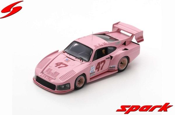 <予約> Spark 1/43  Porsche 935 M16 No.47 Daytona 24H 1983 P. Romero - D. Bundy - F. Rubino - D. Whittington